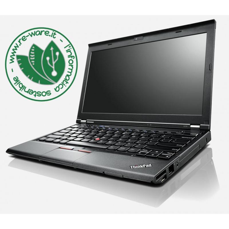 "Portatile Lenovo Thinkpad X230 Core i5-3320M 12"" 8Gb SSD 128Gb usb3 Win10Pro"