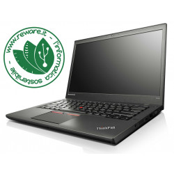 "Portatile Lenovo ThinkPad T450s i5-5300U 14"" FHD 12Gb SSD 256Gb usb3 4G Win10Pro"