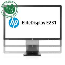 "Monitor LCD 23"" HP EliteDisplay E231 FullHD 1920x1080 VGA DVI DisplayPort"