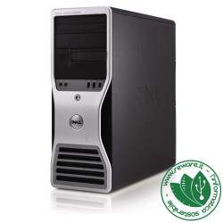 Workstation Dell T3500 Xeon X5500 quadcore 12Gb 1Tb Quadro 600 dvdrw Win10Pro