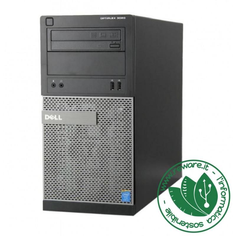 PC minitower Dell OptiPlex 3020 Core i5-4570 8Gbb SSD 240Gb dvdrw usb3 Win10Pro