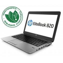 """Portatile HP EliteBook 820 G1 Core i5-4200U 12"""" 8Gb SSD 180Gb usb3 Win10Pro"""