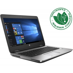 "Portatile HP ProBook 640 G1 Core i5-4210M 14"" 8Gb SSD 240Gb usb3 dvdrw Win10Pro"