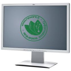 """Monitor LCD 24"""" Fujitsu B24W-6 FullHD 1920x1200 VGA DVI DisplayPort Audio Integrato"""