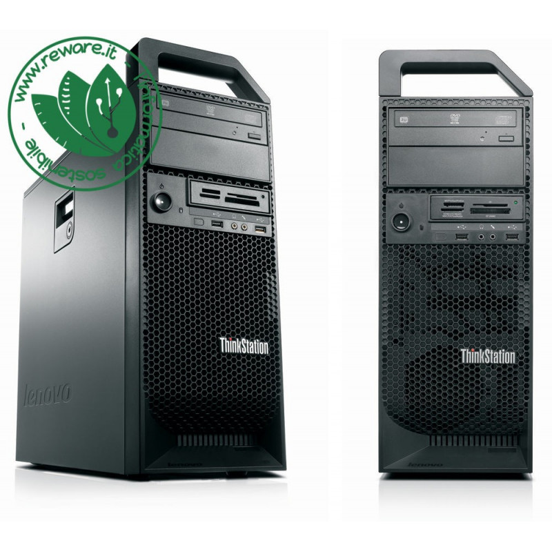 Workstation Lenovo S20 Xeon quadcore W3550 16Gb SSD 240Gb +1Tb Quadro 2000 Win10Pro