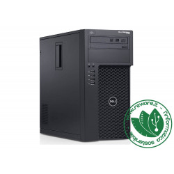 Workstation Dell Precision T1700 Xeon 1240v3 16Gb SSD 480 Quadro k600 W10 Pro