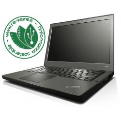 "Portatile Lenovo ThinkPad X240 Core i7-4600U 12"" 8Gb SSD 256Gb usb3 3G Win10Pro"