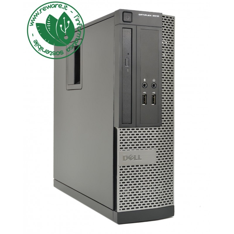 PC desktop Dell 3020 SFF Intel Core i5-4570 8Gb 500Gb dvd usb3 Windows 10 Pro