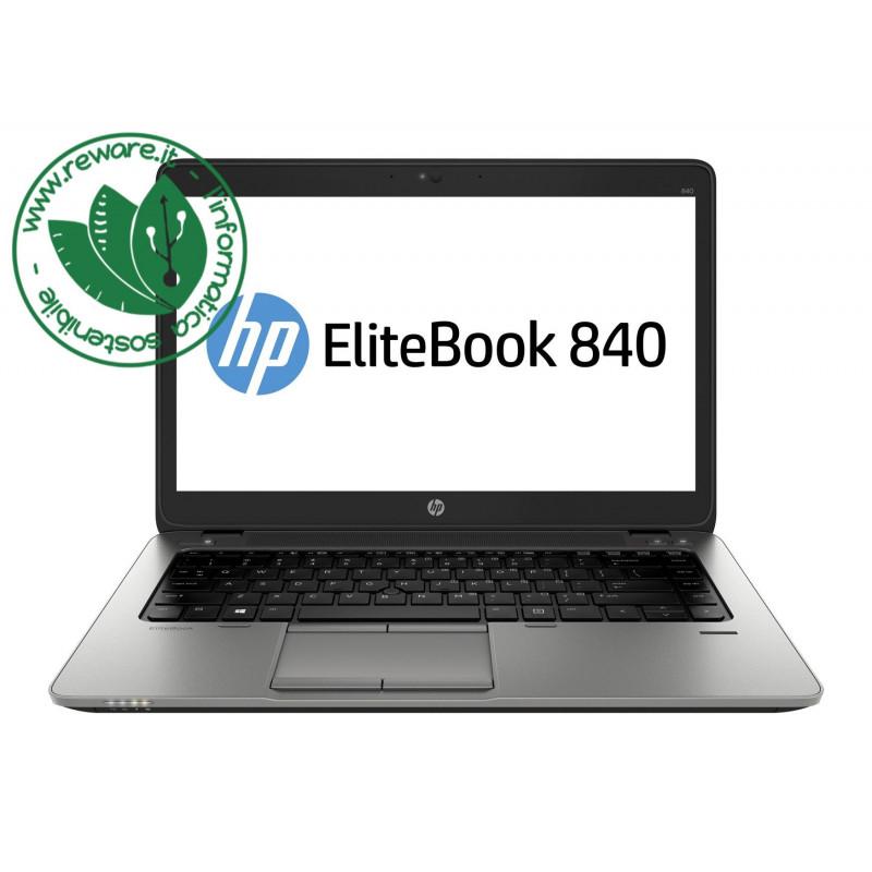 """Portatile HP EliteBook 840 G2 Core i5-5200U 14"""" FHD 8Gb SSD 256Gb usb3 Win10Pro"""