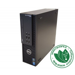 Workstation Dell Precision T1700 SFF Xeon 1241v3 16Gb 1Tb Quadro K620 Win10Pro