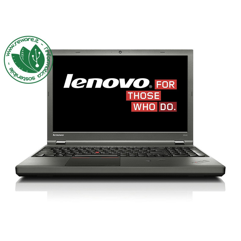 "Portatile Lenovo ThinkPad W540 i7-4800MQ 15.6"" 3K 32Gb SSD 512Gb K2100M W10Pro"
