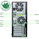 PC miditower HP EliteDesk 800 G1 Core i7-4770 8Gb SSD 480Gb usb3 dvdrw Win10Pro