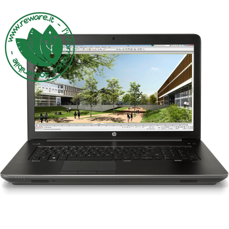 """Portatile HP Zbook 17 G3 17"""" FHD Core i7-6820HQ 32Gb SSD 512Gb Quadro M3000M W10Pro"""
