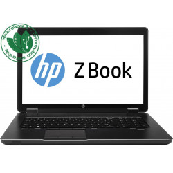 """Portatile HP Zbook 17 G1 17"""" FHD Core i7-4900QM 32Gb SSD 480Gb Quadro K5100M W10Pro"""