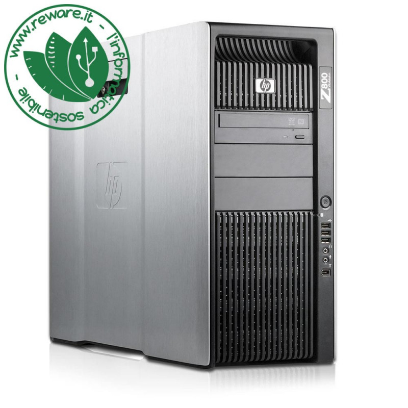 Workstation HP Z800 dual Xeon X5660 24Gb 300Gb SAS +2Tb Quadro 4000 Win10Pro