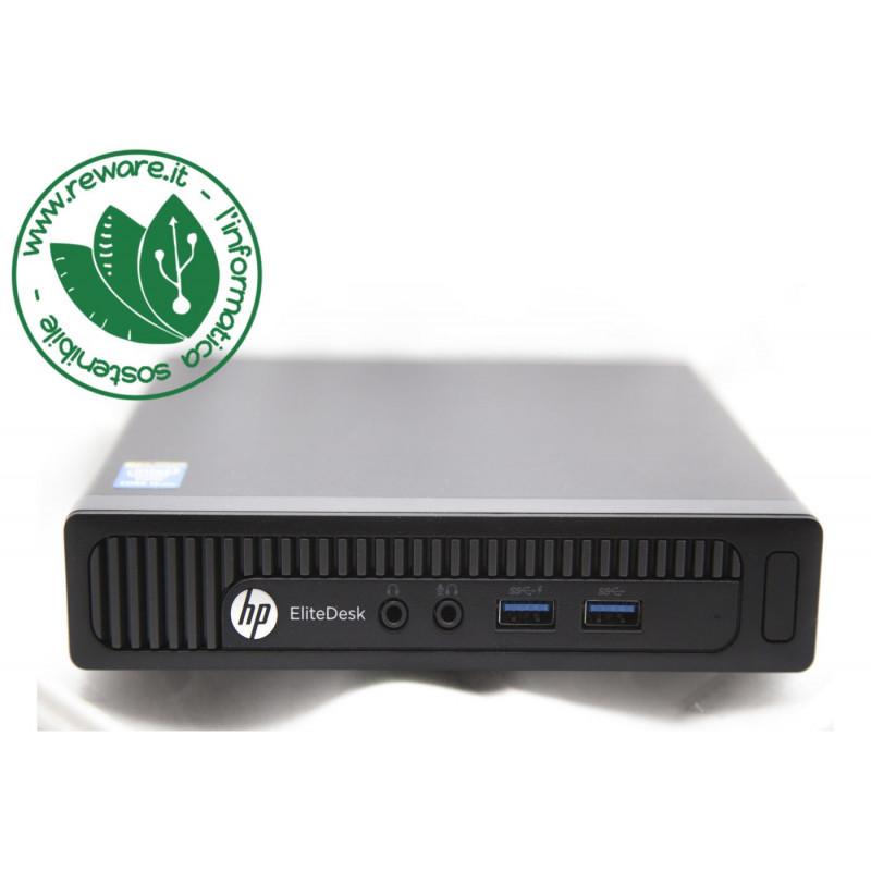 PC HP ProDesk 600 G1 mini pc Core i5-4590T 8Gb SSD 240Gb usb3 Wifi Win10Pro