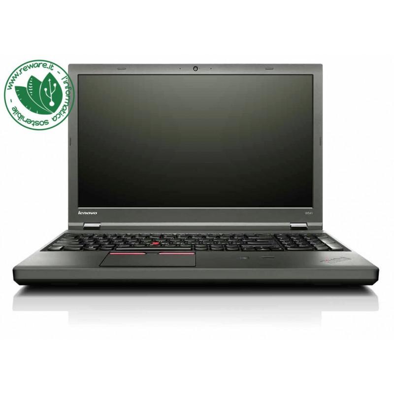 "Portatile Lenovo ThinkPad W541 i7-4810MQ 15.6"" FHD 16Gb SSD 500Gb K1100M W10Pro"