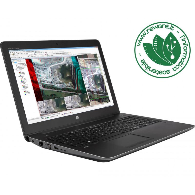 "Portatile HP Zbook 15 G4 15"" FHD i7-7820HQ 32Gb SSD 1Tb Quadro M2200M W10Pro"