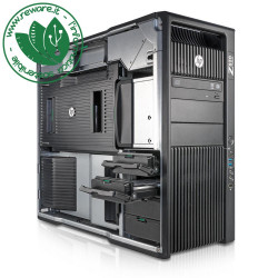 Workstation HP Z820 Xeon E5-2643 32Gb SSD 500Gb+2Tb Quadro K2200 dvdrw W10Pro