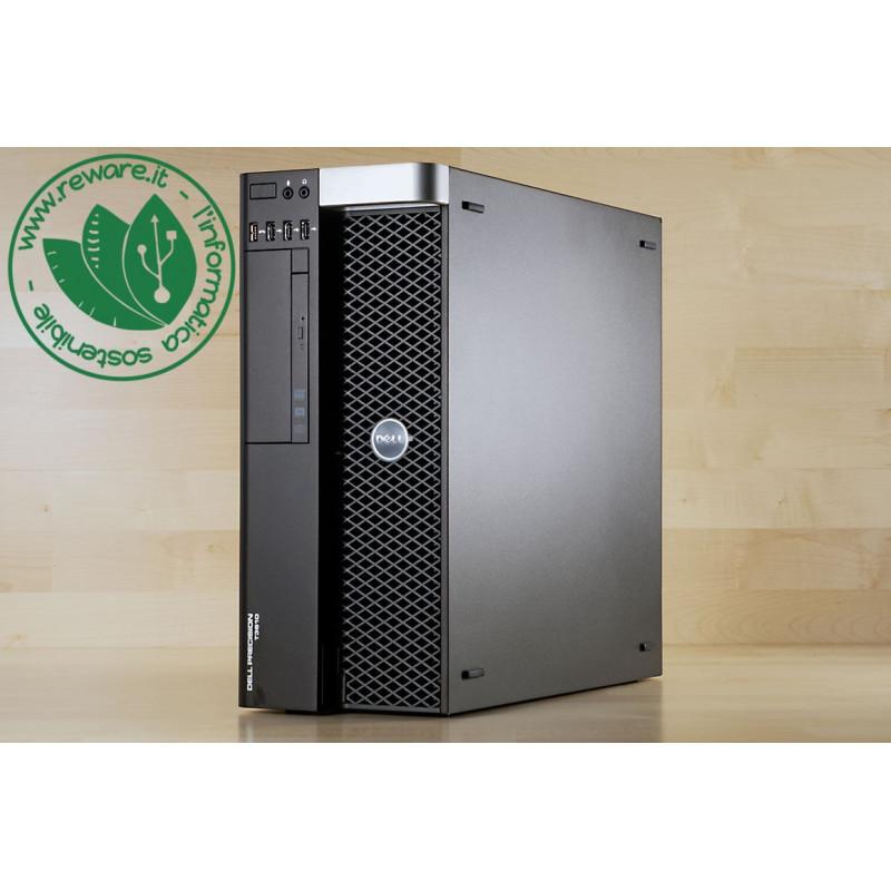 Workstation Dell T3610 Xeon quad E5-1620v2 16Gb SSD 256Gb +1Tb FirePro W4100 W10 Pro