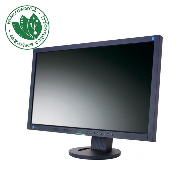 """Monitor LCD 23"""" Eizo FlexScan EV2313W Nero FullHD 1920x1080 VGA DVI DisplayPort"""