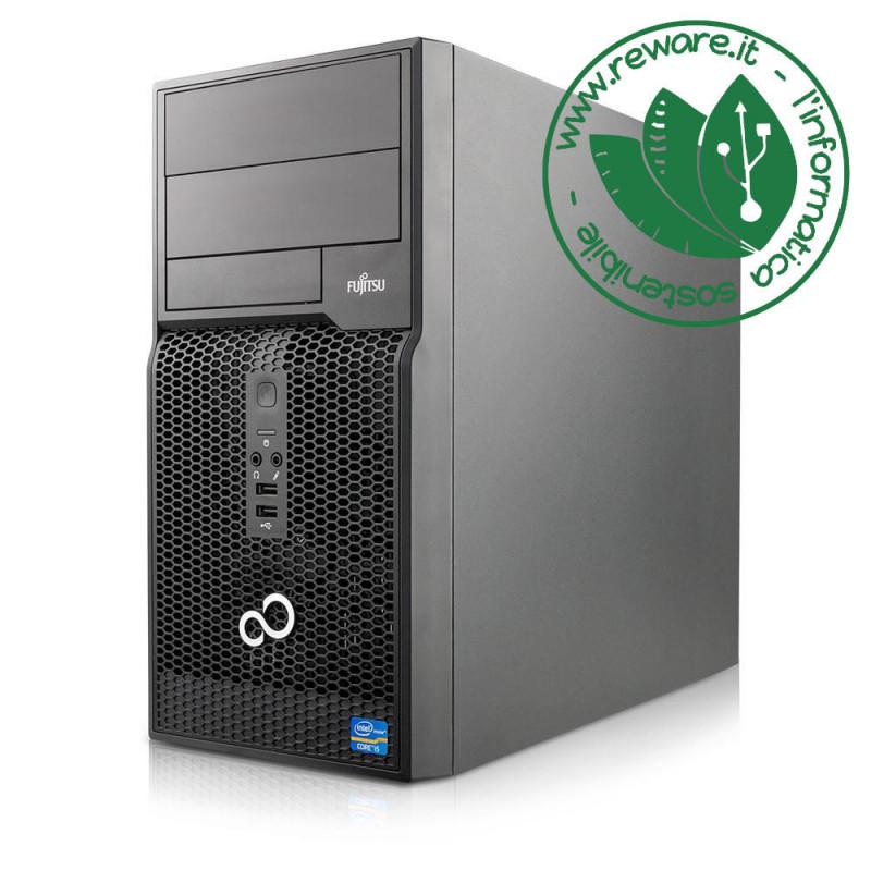 PC minitower Fujitsu Esprimo P510 Core i5-3470 8Gb SSD 240Gb usb3 Windows 10 Pro