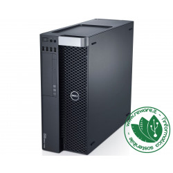Workstation Dell T5600 Xeon hexacore E5-2620 16Gb SSD 480Gb Quadro K2000 Win10Pro