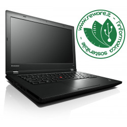 "Portatile Lenovo ThinkPad L440 i5-4200M 14"" HD+ 8Gb SSD 240Gb usb3 dvdrw Windows 10 Pro"