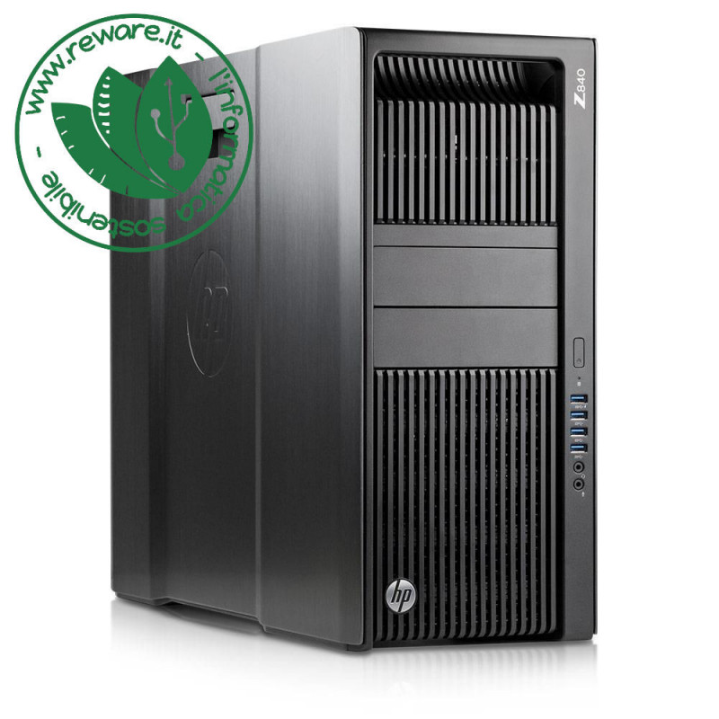 Workstation HP Z840 2X Xeon E5-2690v3 64Gb SSD 1Tb HD 3Tb Quadro M4000 W10Pro