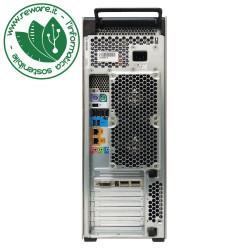 Workstation HP Z620 2X Xeon E5-2620 16Gb SSD 256Gb+1Tb Quadro K620 W10Pro