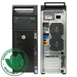 Workstation HP Z620 2X Xeon E5-2620 16Gb SSD 256Gb+1Tb Quadro K620 W10Pro
