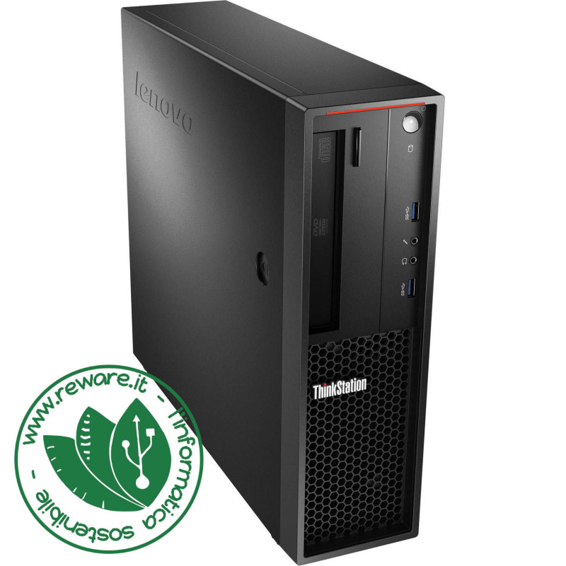 Workstation Lenovo ThinkCentre P300 SFF Xeon 1231v3 16Gb SSD 480Gb Quadro K420 Win10Pro