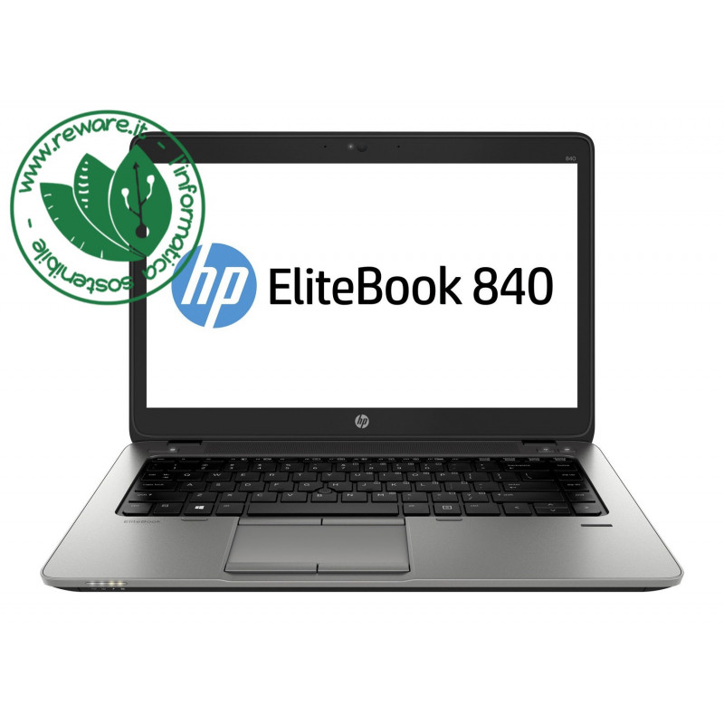"Portatile HP EliteBook 840 G2 Core i5-5200U 14"" FHD 8Gb SSD 240Gb usb3 Win10Pro"