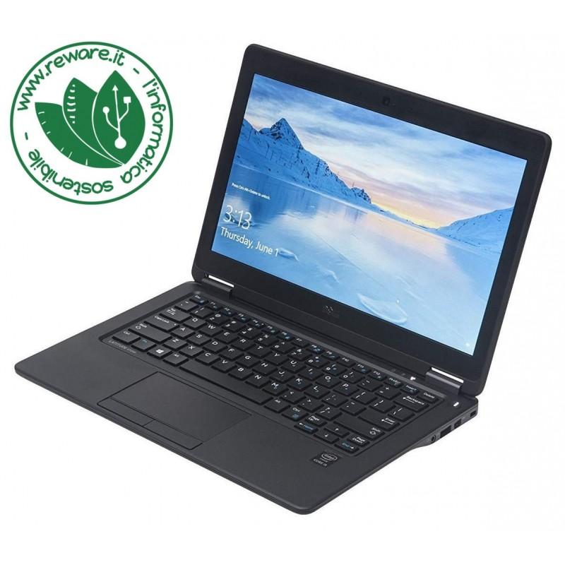 """Portatile Dell Latitude E7250 Core i5-5300U 12"""" 8Gb SSD 128Gb usb3 Win10Pro"""