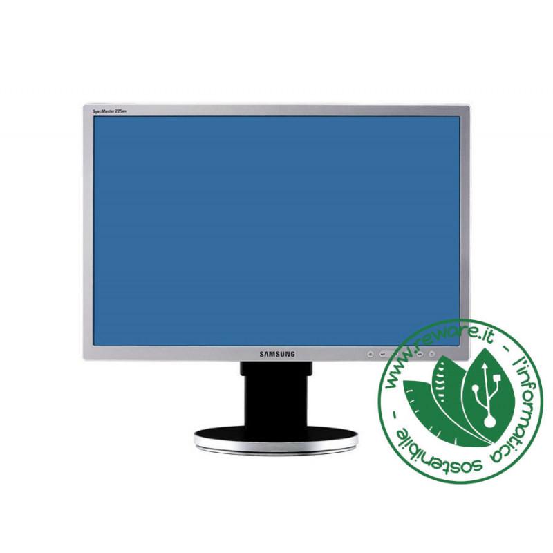 "Monitor LCD 22"" Samsung SyncMaster 225BW HD 1680x1050 VGA DVI"