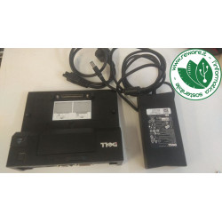 Dell E-Port Replicator K07A002 Docking Station K07A + Alim Dell 130W