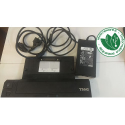 Docking Station Dell PR02X ADVANCED E-PORT PLUS + Alim Dell 130W