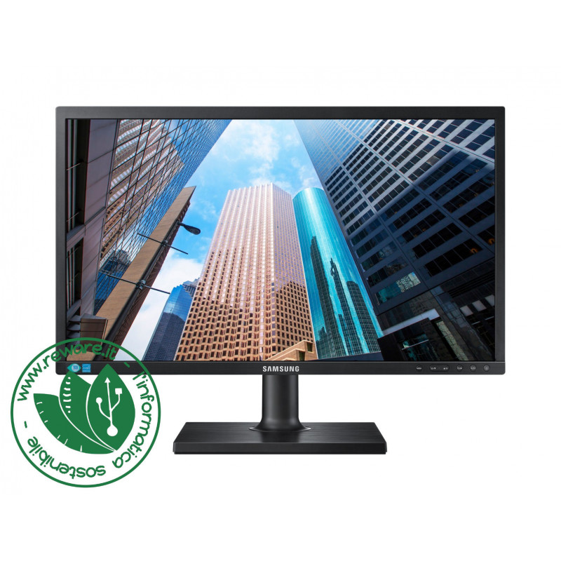 "Monitor LCD 22"" Samsung S22E450DW HD 1680x1050 VGA DVI DisplayPort"