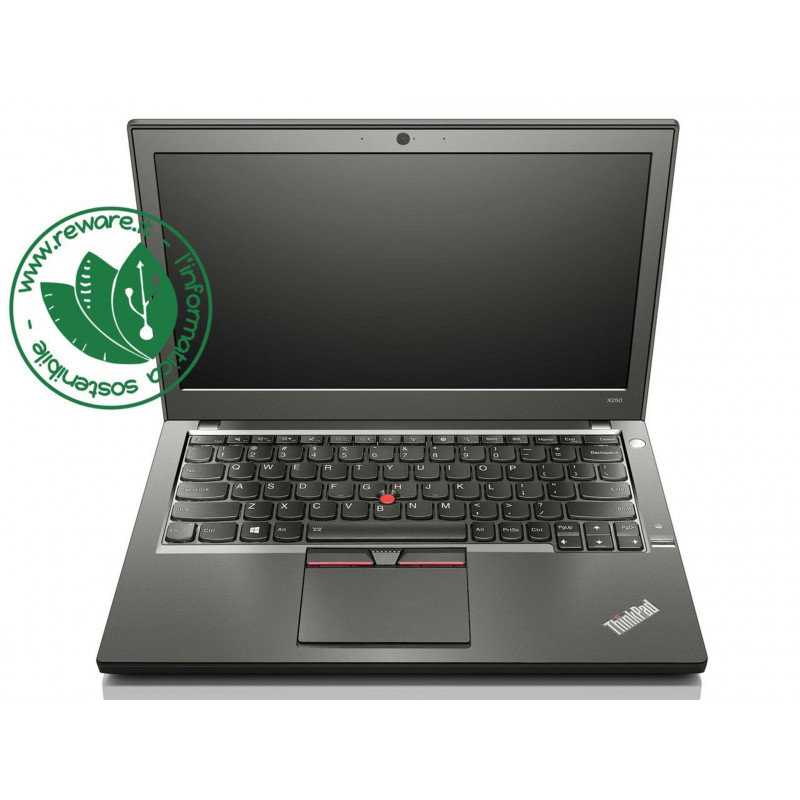 "Portatile Lenovo ThinkPad X250 Core i5-5200U 12"" 8Gb SSD 240Gb usb3 Win10Pro"