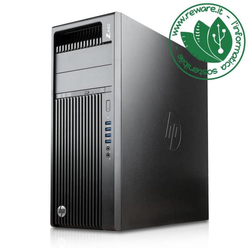 Workstation HP Z440 Xeon E5-1650v4 64Gb SSD 480Gb +3Tb Quadro M4000 W10 Pro