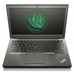 "Portatile Lenovo ThinkPad X240 Core i5-4300U 12"" 8Gb SSD 128Gb usb3 Win10Pro"