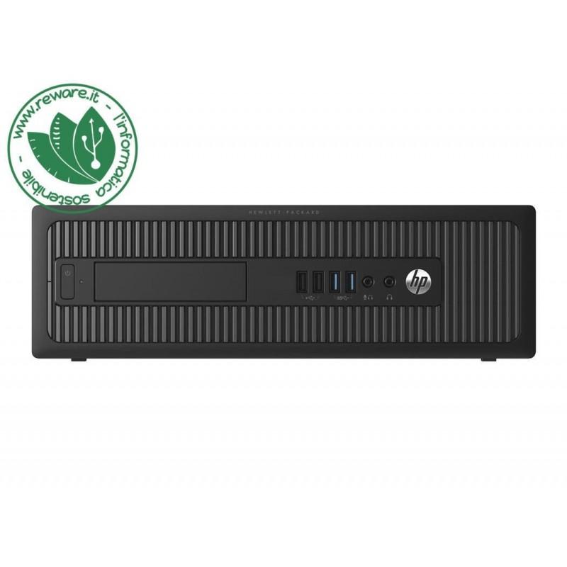 PC desktop HP ProDesk 400 G1 Core i5-4570T 8Gb ssd 240Gb usb3 dvd Windows 10 Pro