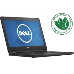 "Portatile Dell Latitude e7270 i5-6300U 12"" 8Gb SSD 128Gb usb3 Windows 10 Pro"