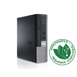 PC desktop Dell 9010 USFF Intel Core i5-3470S 8Gb SSD 240Gb dvd usb3 Windows 10 Pro