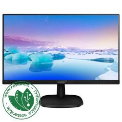 """Monitor LCD 24"""" Philips 243V7QDSB Led IPS FullHD 1920x1080 VGA DVI HDMI - Nuovo"""
