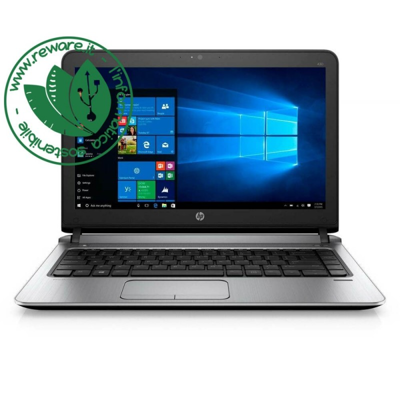 "Portatile HP ProBook 430 G3 Core i3-6100U 13.3"" 8Gb SSD 128Gb usb3 Win10 Home"