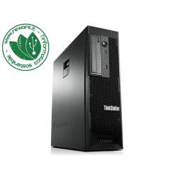 Workstation Lenovo C30 dual Xeon E5-1620v2 32Gb SSD 500Gb +1Tb Quadro K2200 Win10 Pro