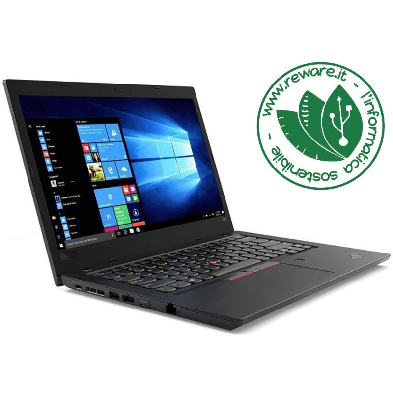 """Portatile Lenovo ThinkPad L470 i5-7300U 14"""" FHD 8Gb SSD 256Gb usb3 Win10 Pro"""