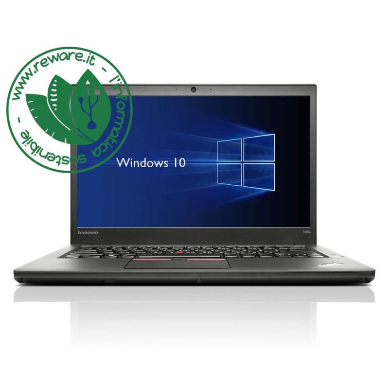 "Portatile Lenovo ThinkPad L450 i3-5005U 14"" 8Gb SSD 180Gb usb3 Win10 Home"