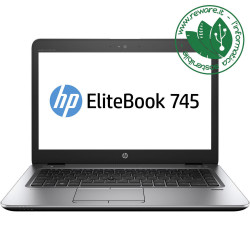 "Portatile HP EliteBook 745 G3 AMD A10-8700B 14"" 8Gb SSD..."